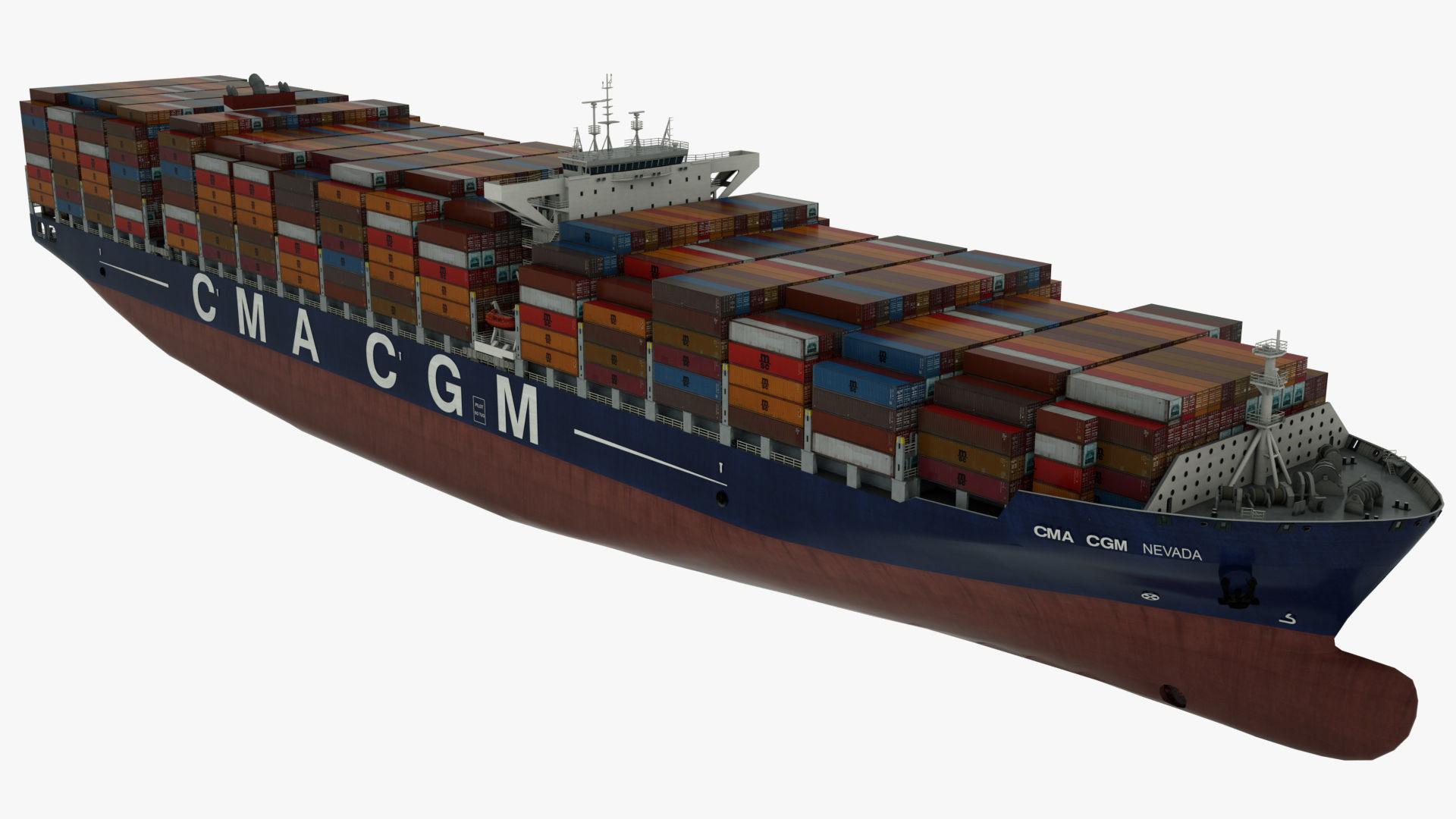 Container ship CMA Nevada