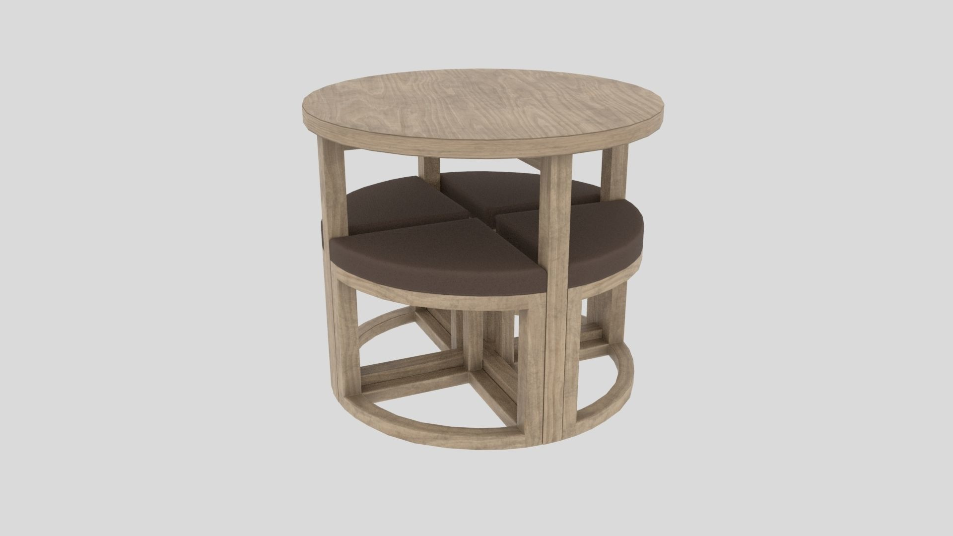 table chair Gambon Stowaway