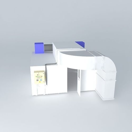 Application Of Paint Booth Free 3d Model Max Obj 3ds Fbx