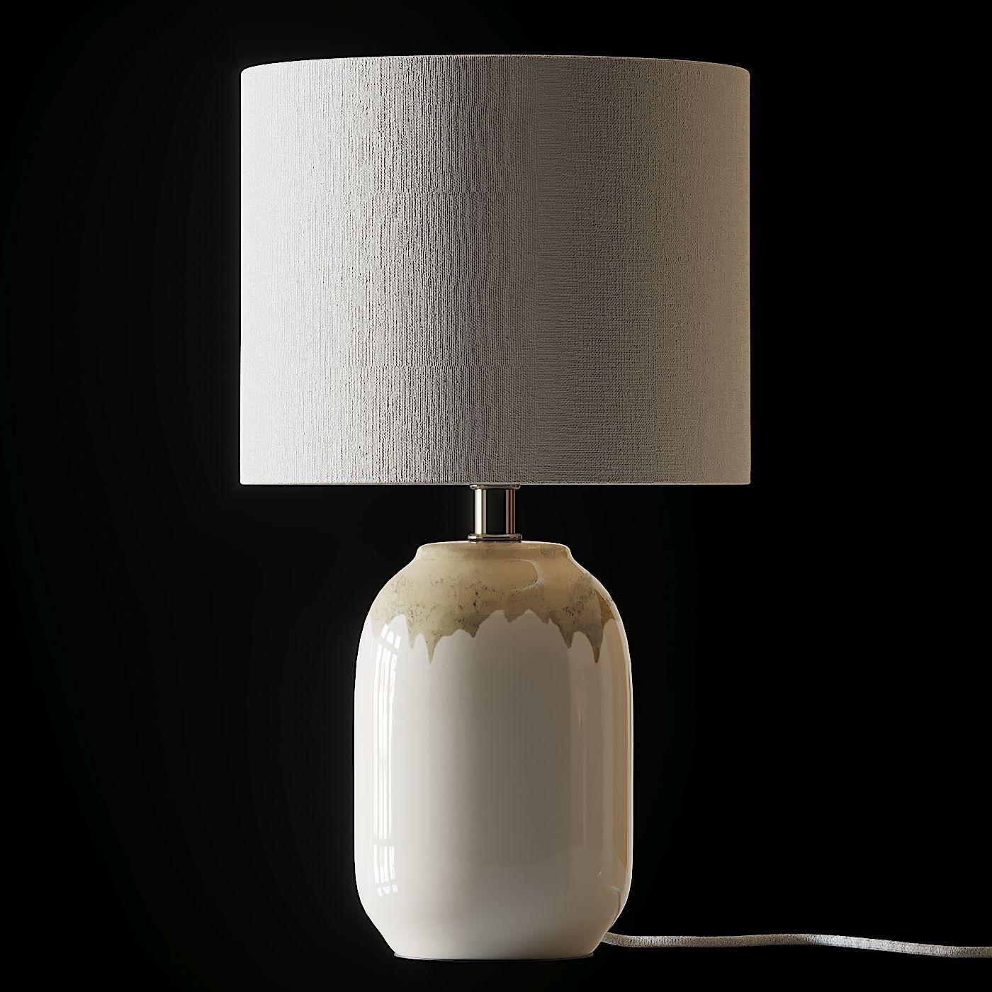 COX and COX Ceramic Bedside Lamp