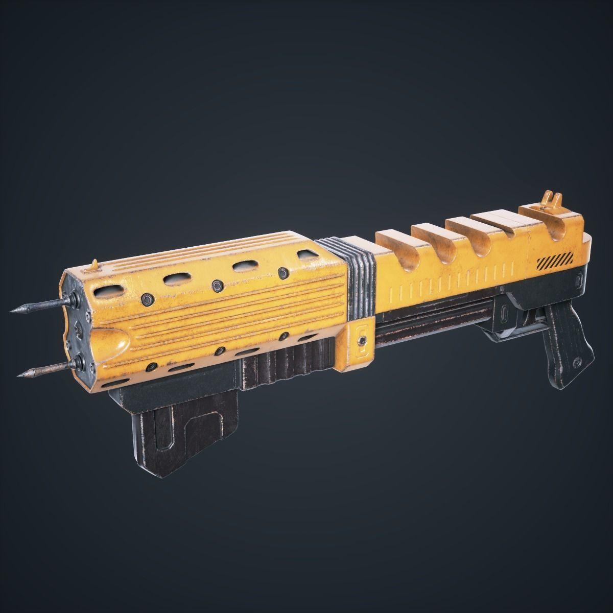 Sci Fi Gun Spark