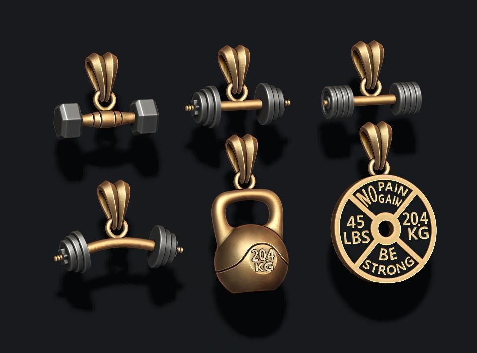 barbell pendant pack