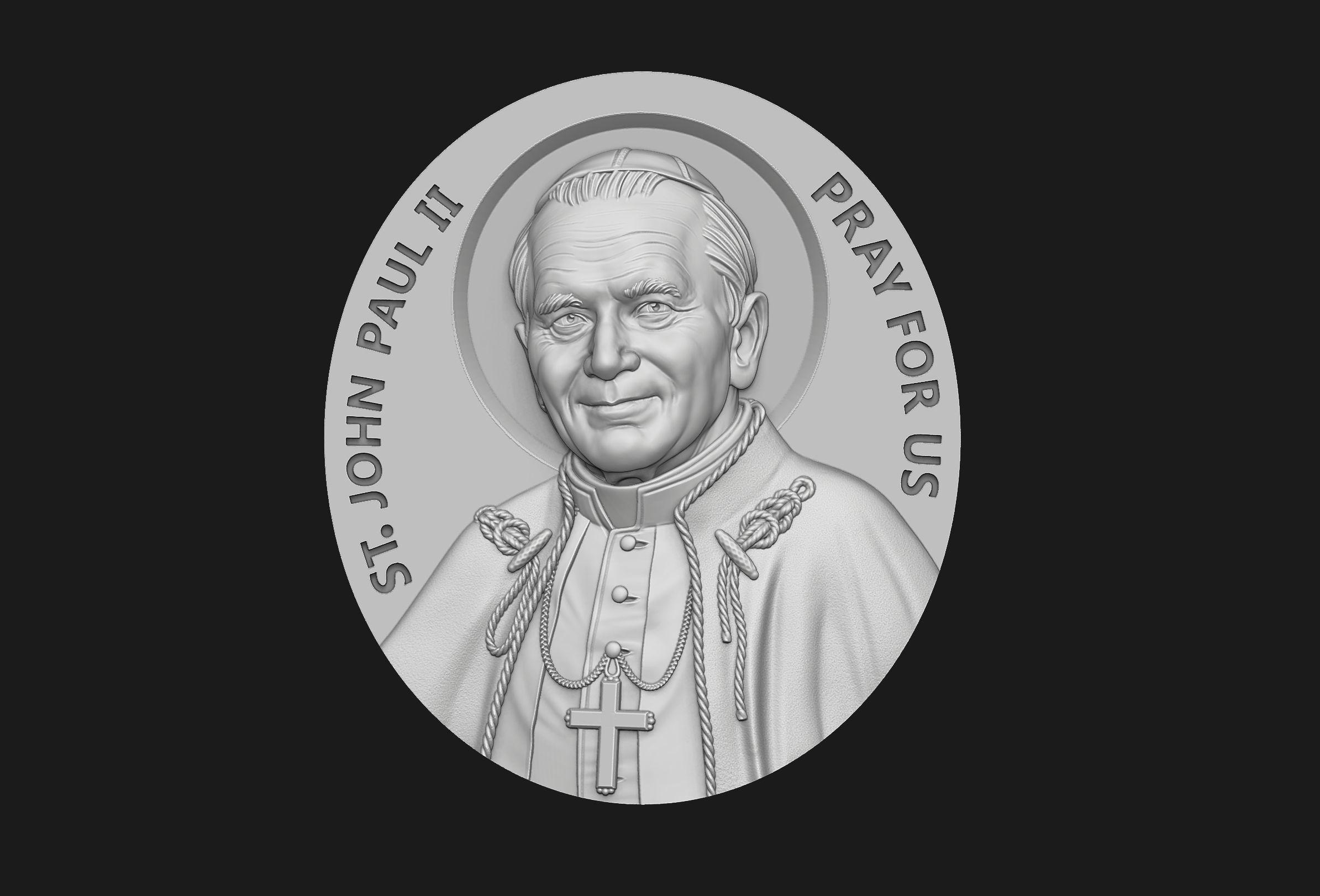 John Paul II Medallion