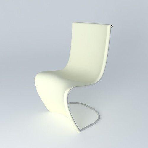 Futuristic Chair 3d Model Max Obj 3ds Fbx Stl Skp 1 ...