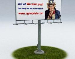 3d model billboard realtime