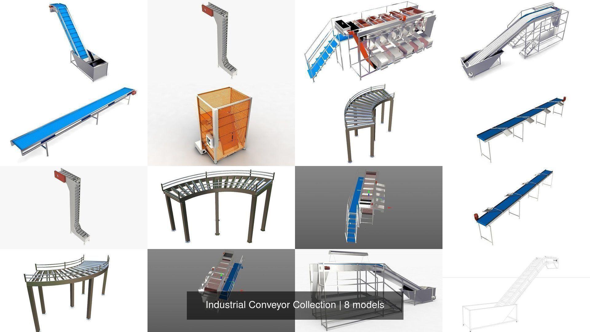 Industrial Conveyor Collection