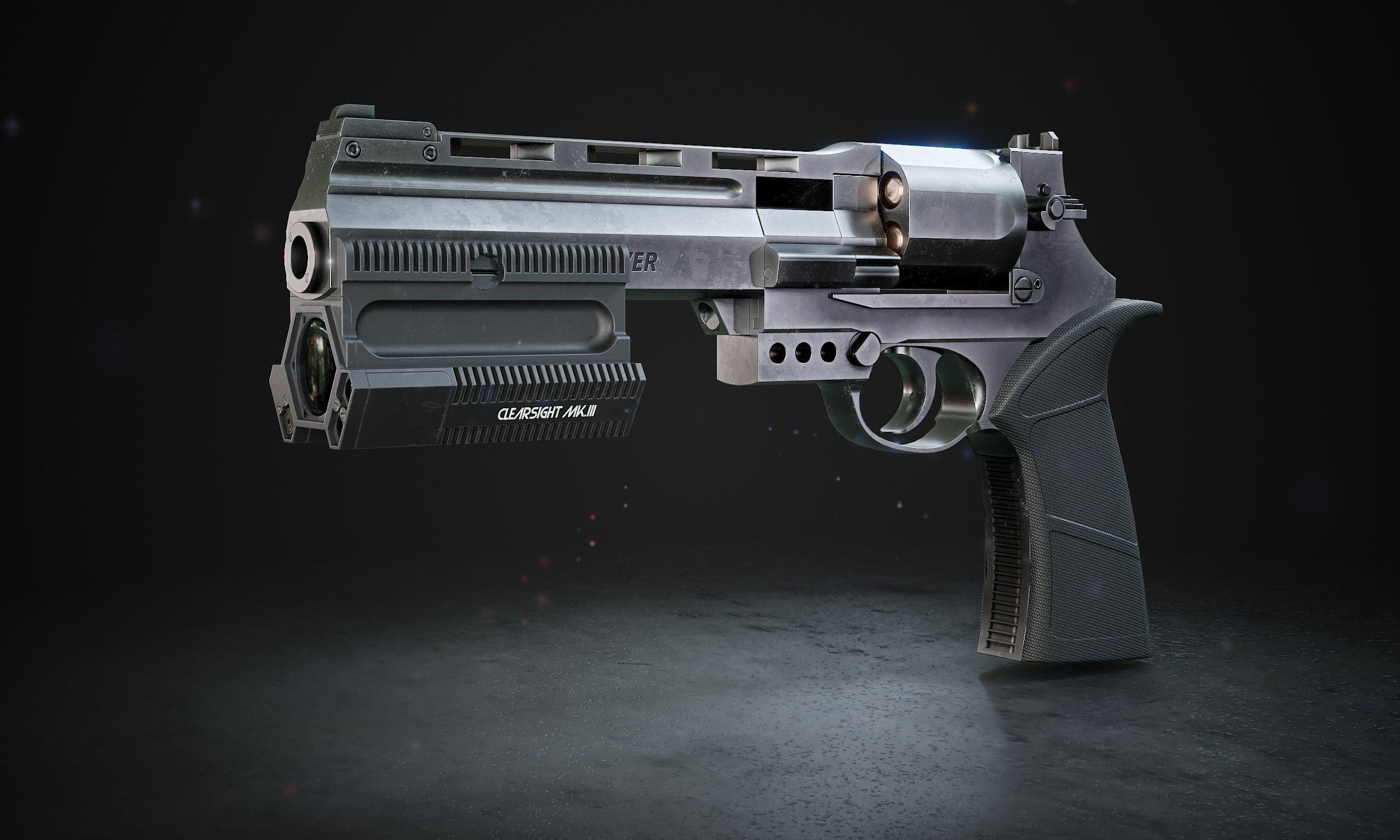 Automatic revolver