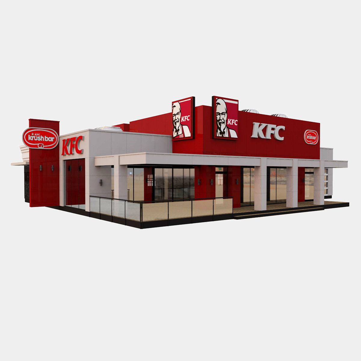 American KFC Restaurant