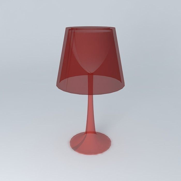 Table lamp free 3d model max obj 3ds fbx stl skp for Table lamp 3ds max