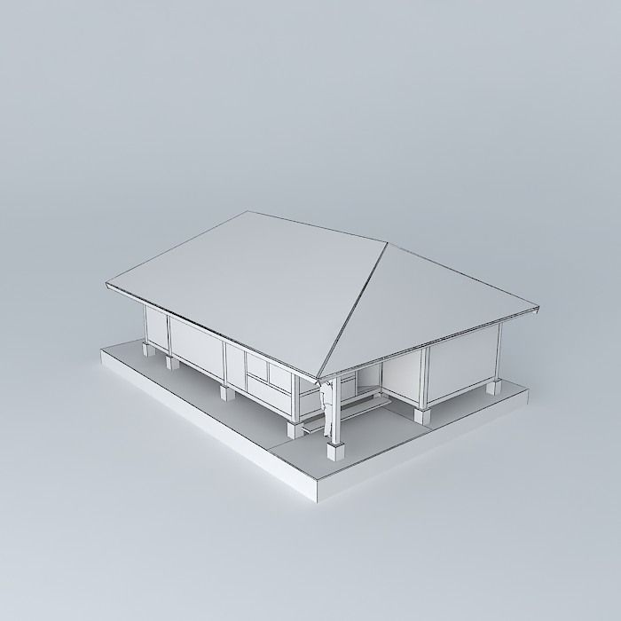 Boat Template 3D   CGTrader