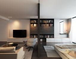 3D model HTs apartment