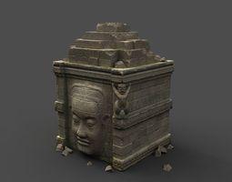 Angkor Wat Games res model 02 3D Model