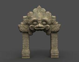 Angkor Wat Games res model 03 3D Model