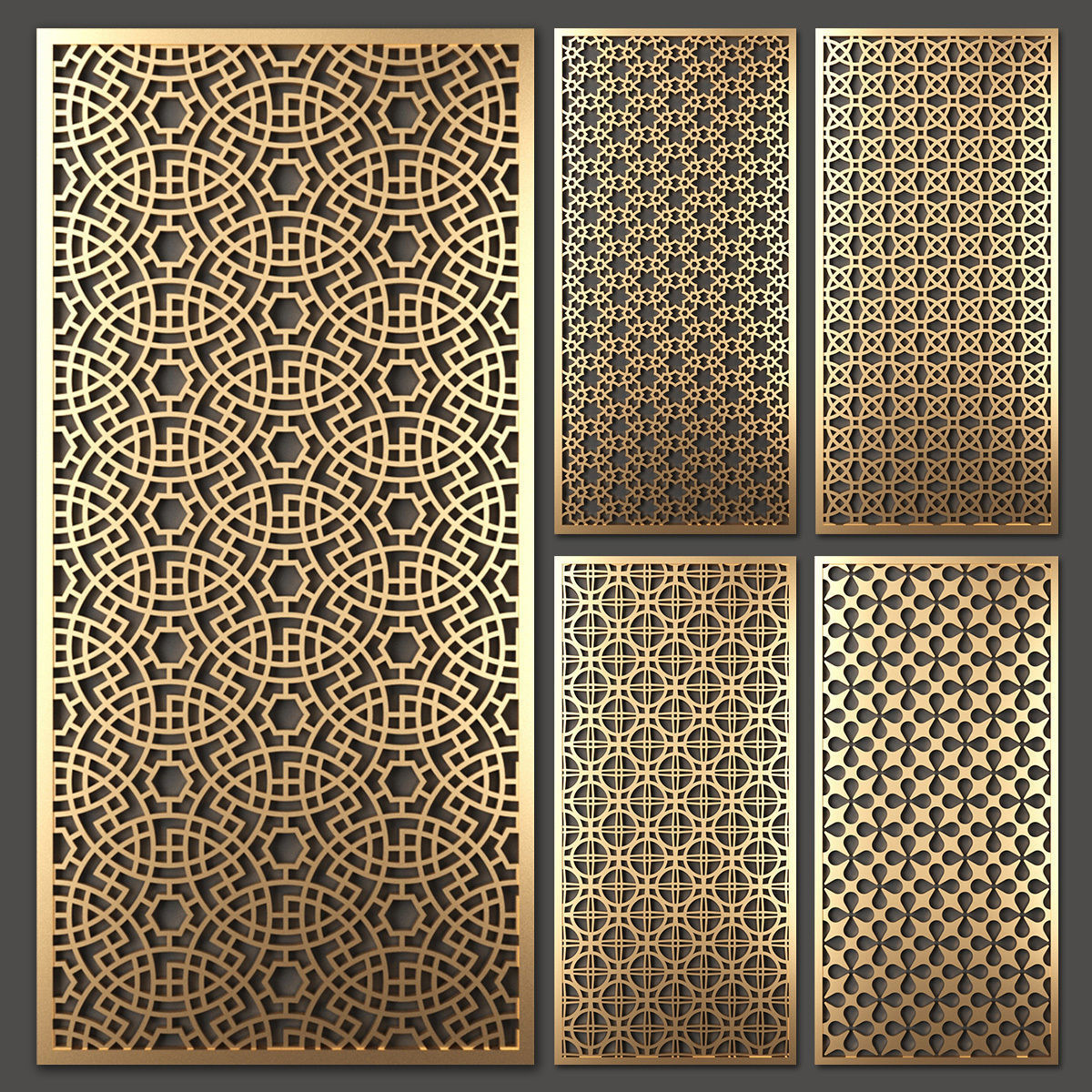Decorative panel set 38