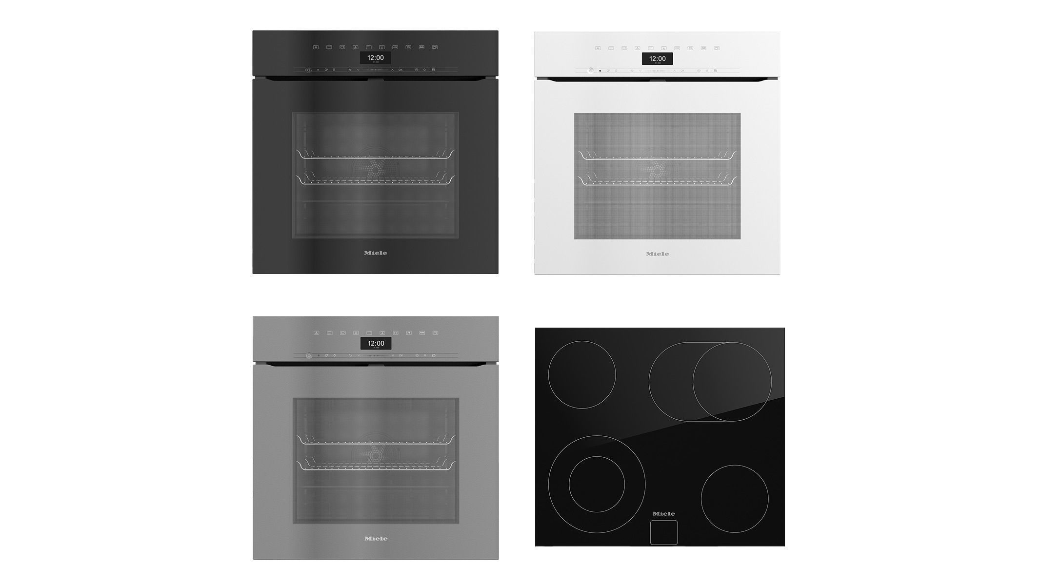 Collection of household appliances by MIELE 18