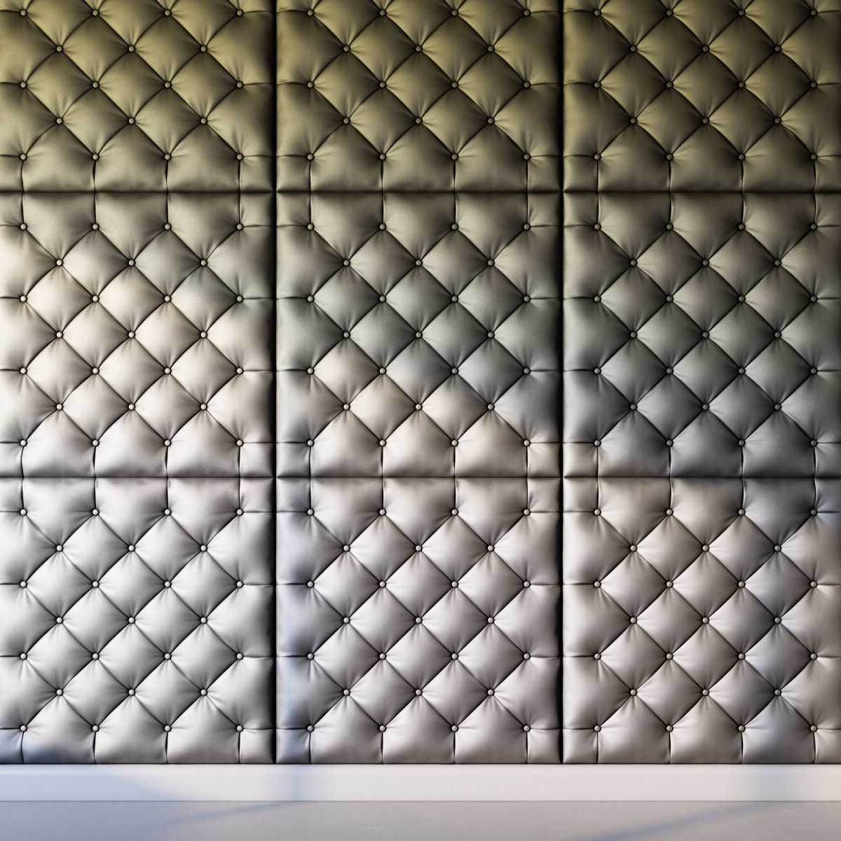 3d decorative wall panel gray