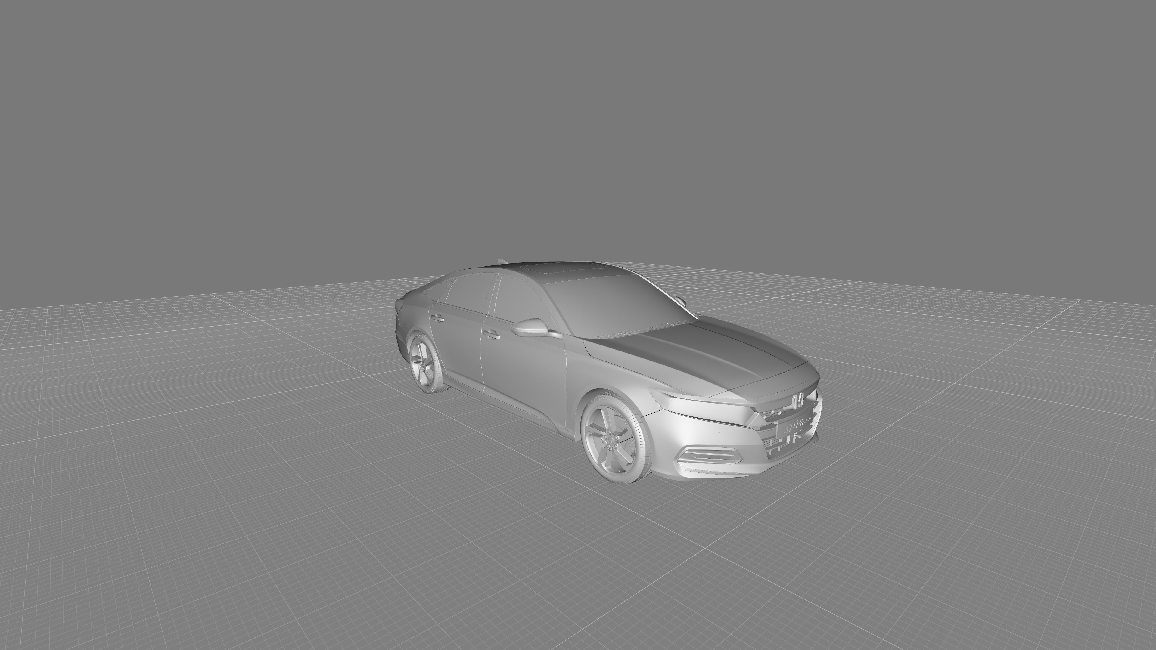 HONDA ACCORD SPORT SEDAN US 2018 3D PRINTING STL FILE