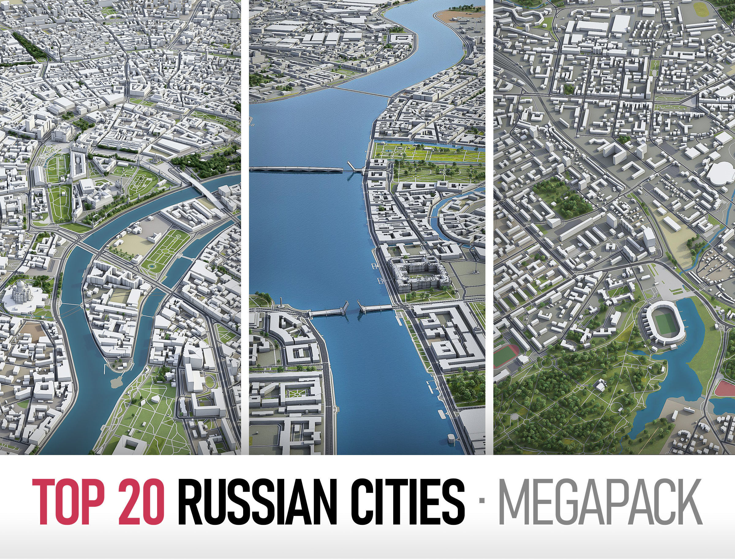 Top Russian Cities MEGAPACK