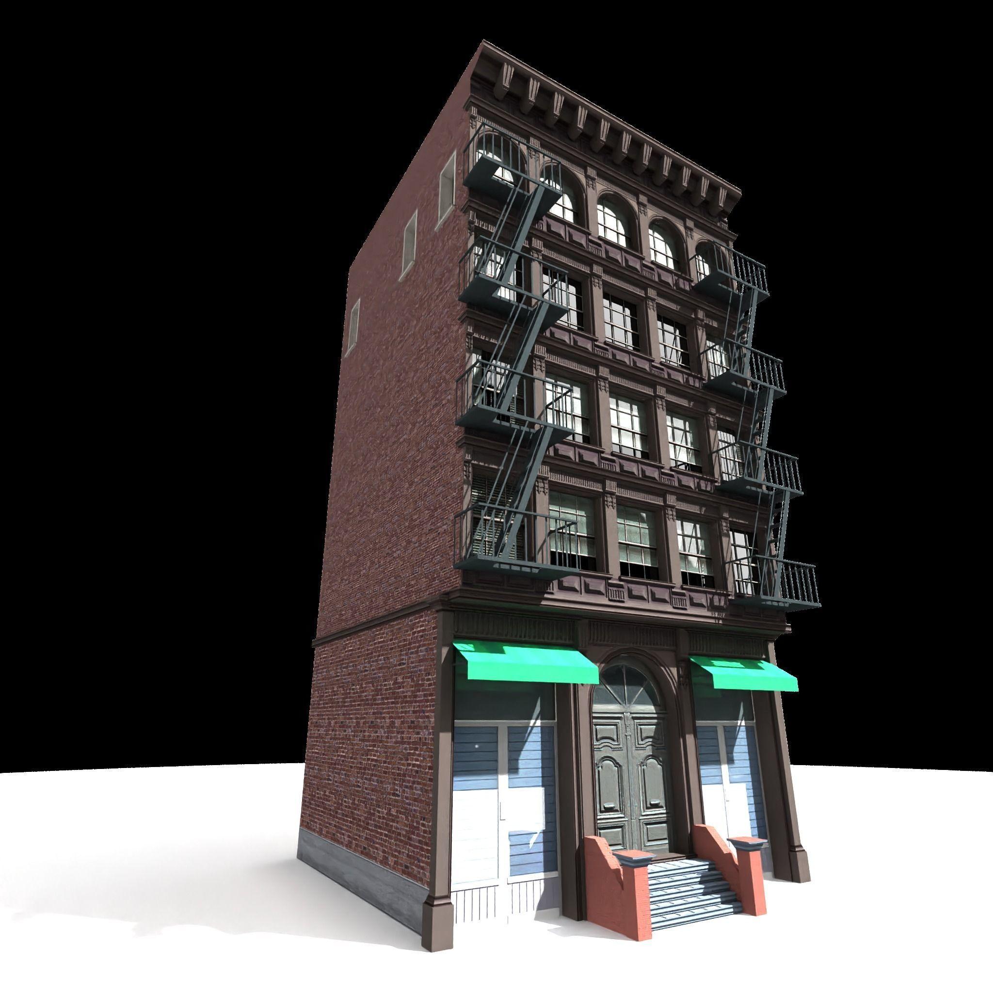 Nyc Building 12 type 1