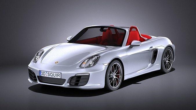 Porsche Boxster S 2016 VRAY