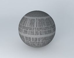 3D model Star Wars,Death Star