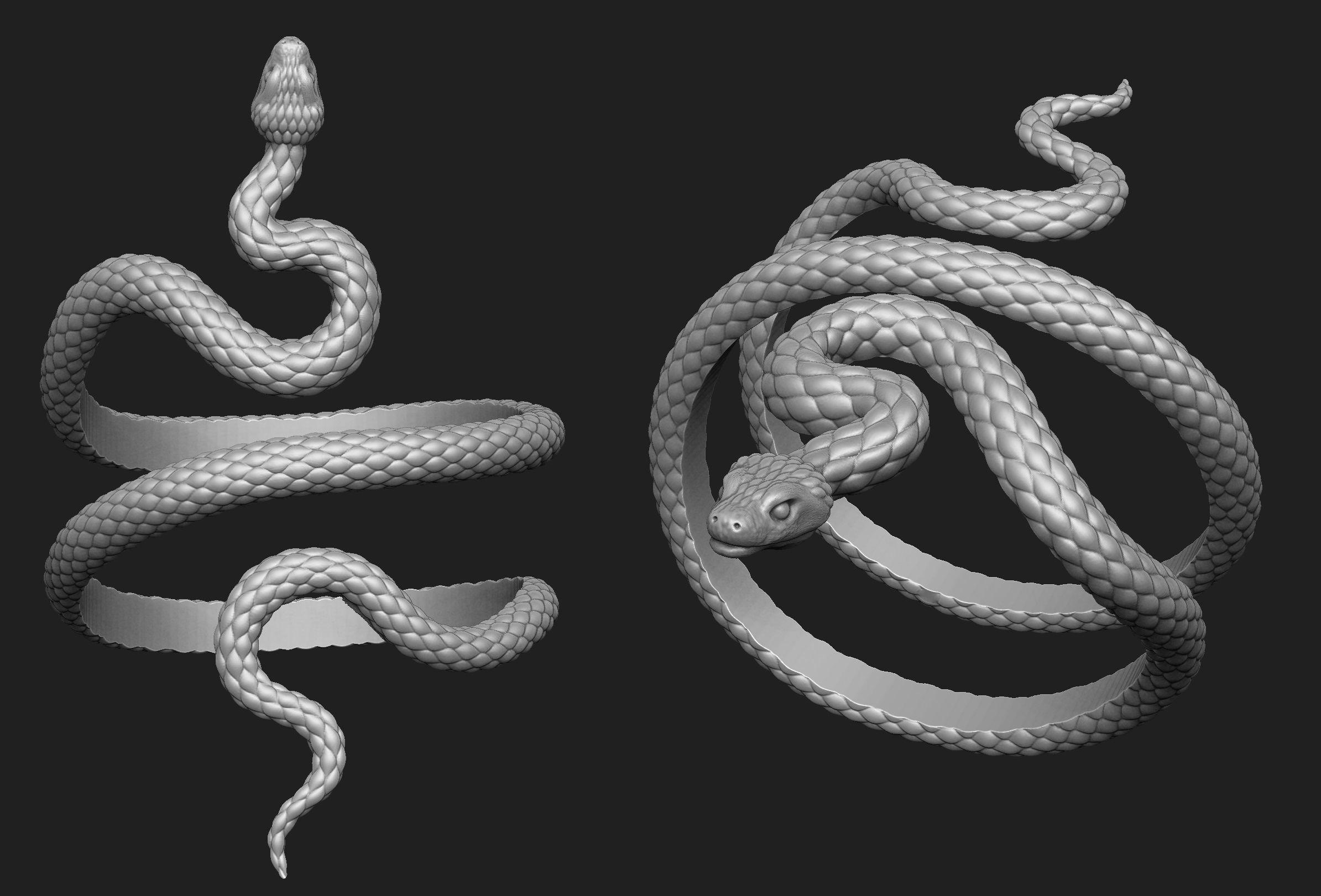 Snake Bracelet Thick Version
