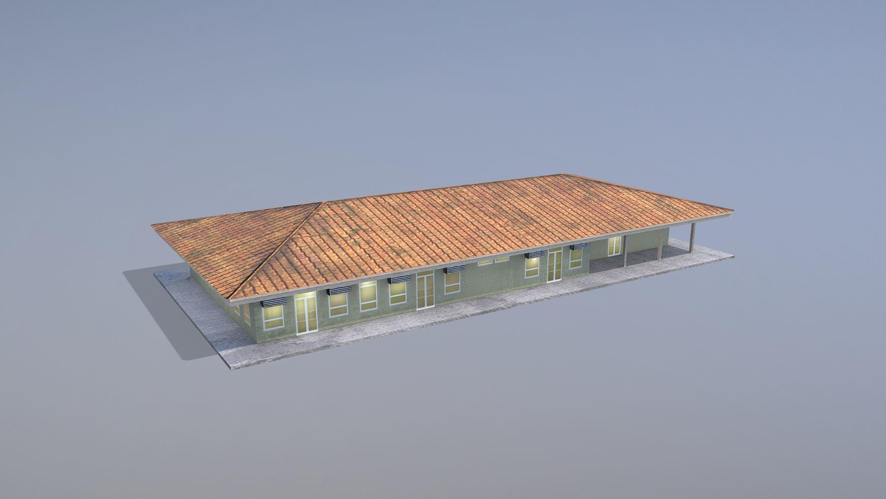 MilitaryBase PortoVelho House 01