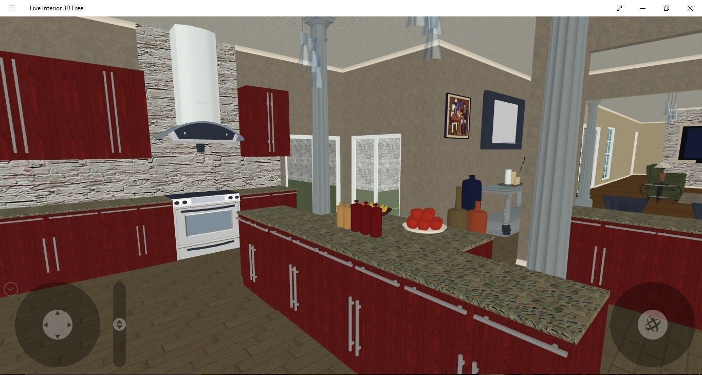 kitchen design 3d model 6 - Kitchen Design Models