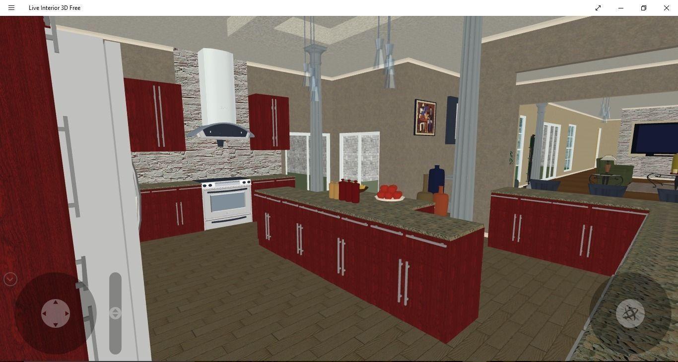 Kitchen Model 3d kitchen design | cgtrader