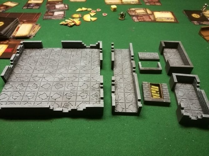 DCRRE dungeon rooms and connectors