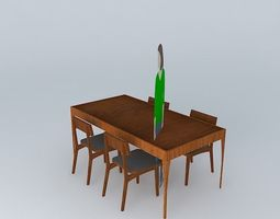 Mesa Verdesign 180x90 3D model