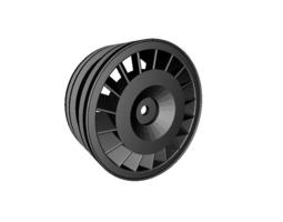 3d print model rc car drift wheel audi s1 width 24mm offset  plus 4mm