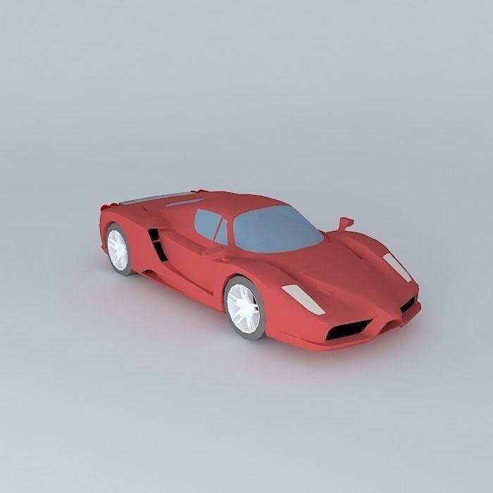 Cenário 3d Ferrari F430 Modelo 3d: Ferrari Enzo Free 3D Model MAX OBJ 3DS FBX STL SKP