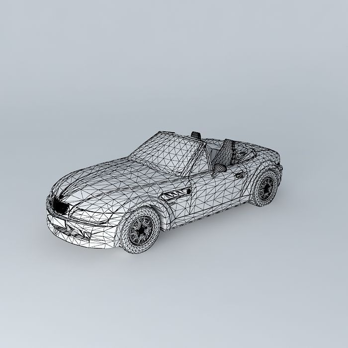 Bmw Z3 Free 3d Model Max Obj 3ds Fbx Stl Skp Cgtrader Com