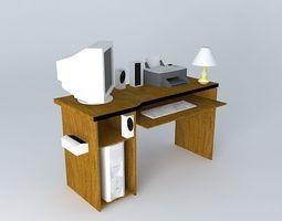My desk 3D
