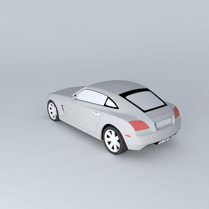 2005 Chrysler Crossfire Free 3D Model MAX OBJ 3DS FBX STL