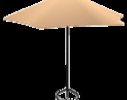 3d model garden umbrella