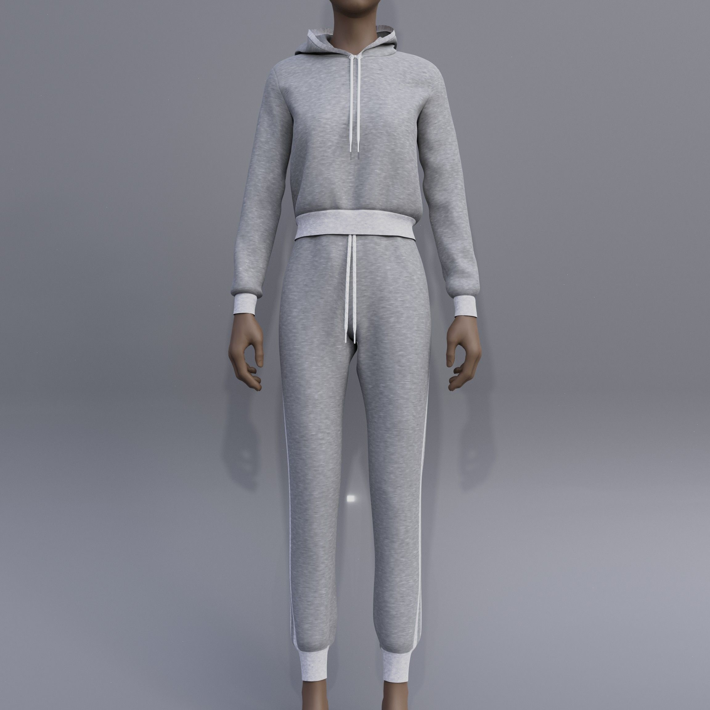 female joggers - hoodie sweater and Sweatpants