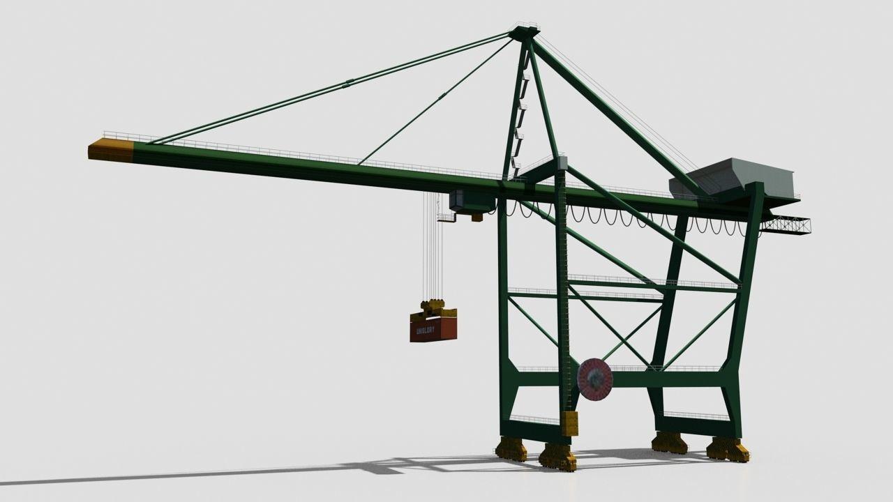 Container Crane | 3D model