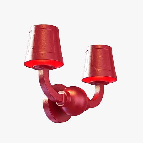 3D Paper Wall Lamp Studio Job Moooi