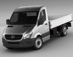 Mercedes Sprinter 2013 pick-up 3D