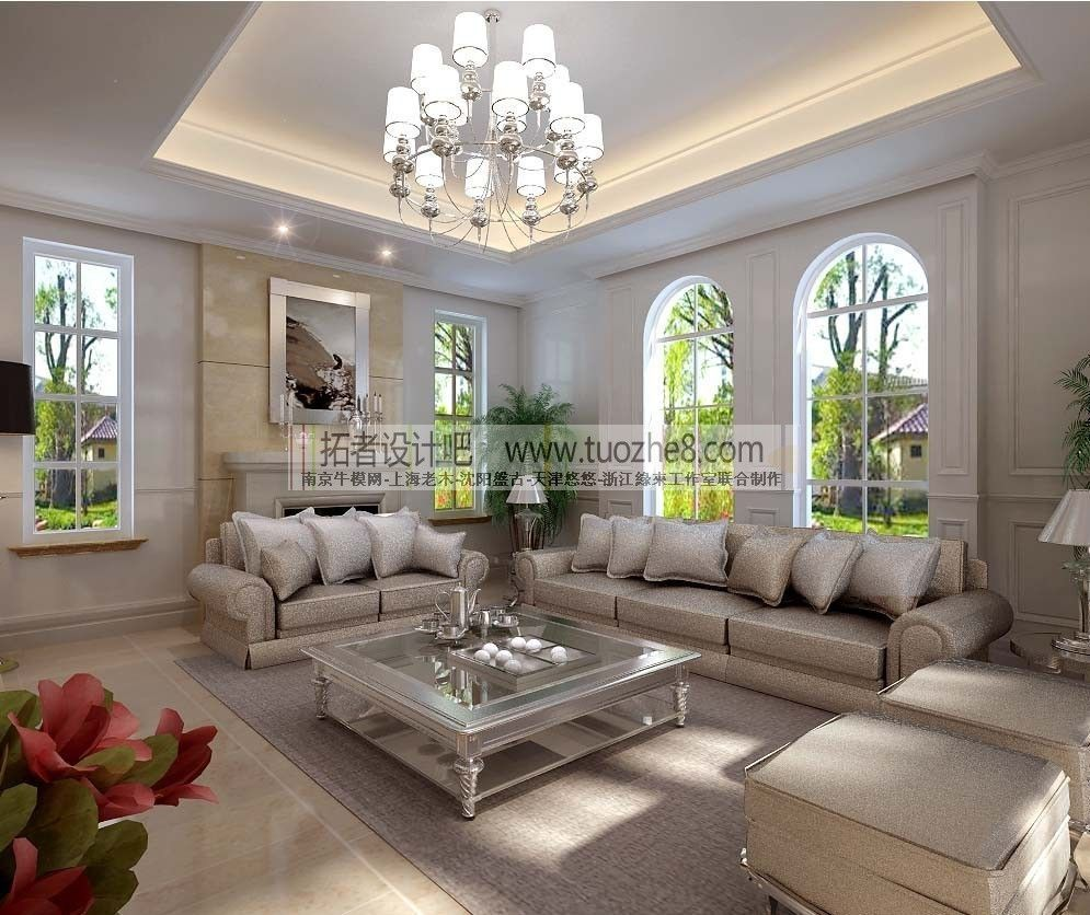 stylish interior design living room restau 3d model max stylish interior design living room restau 3d model max
