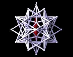 3D printable model STAR IN STAR ROD