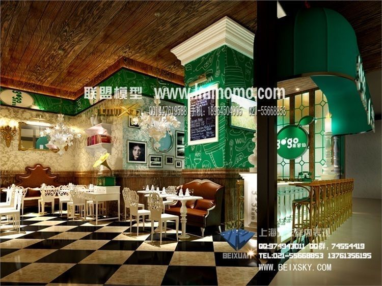 Luxury Kitchen Design 3D Models photo - 6