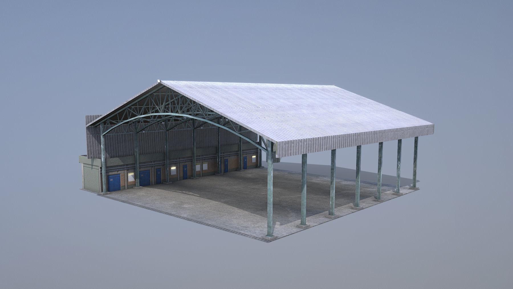 MilitaryBase PortoVelho Hangar 03
