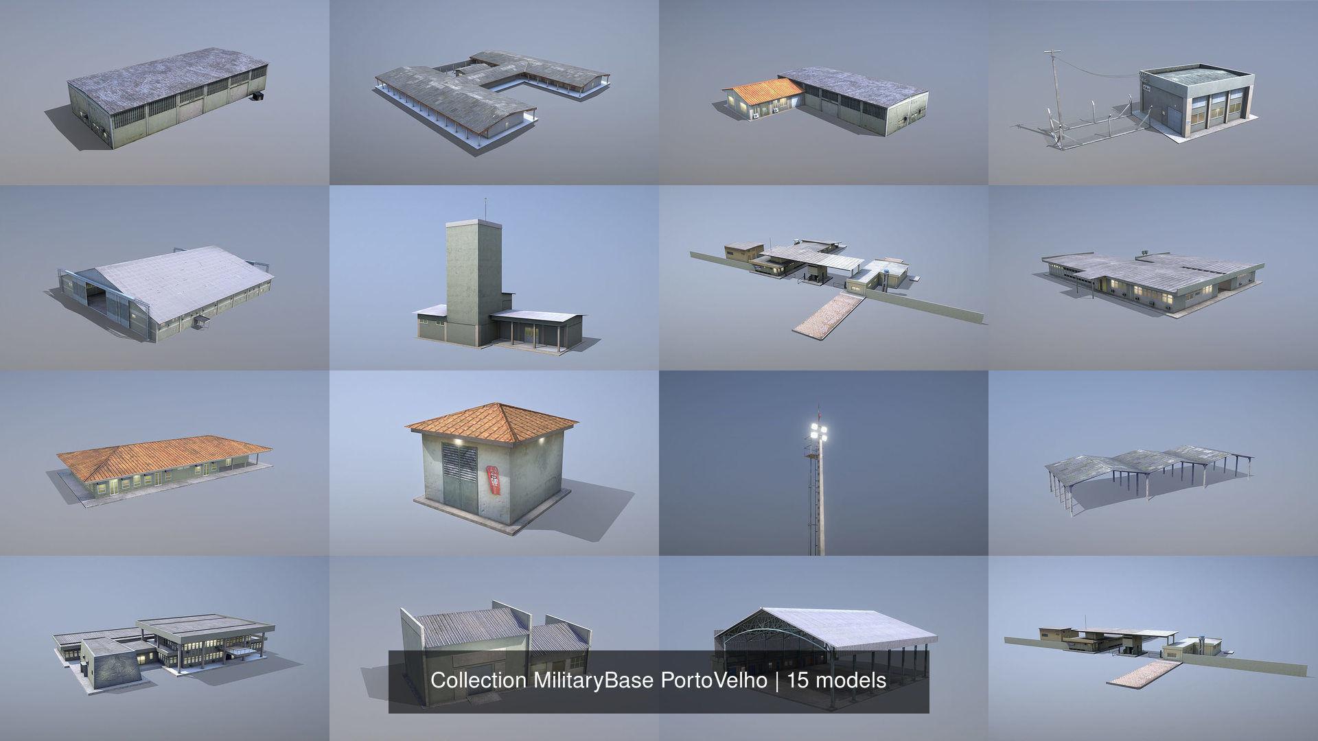 Collection MilitaryBase PortoVelho