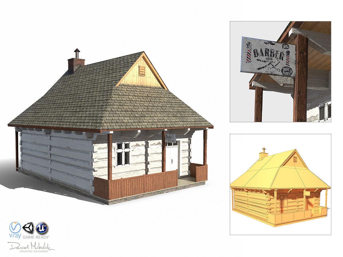 Barber House  - Slav Architecture