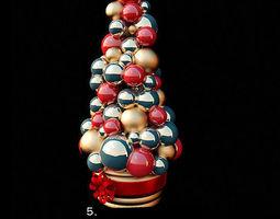 decorative christmas toys 3d model