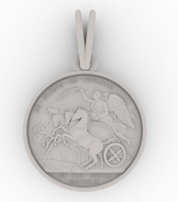 Chariot Athena Medallion
