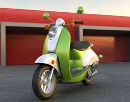Scooter 2  3D Model